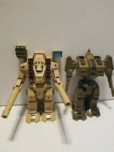 "Vintage Robotech ExoSquad 7"" Mech - Warhammer & Raider Lot of 2"