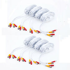 8 x 100ft/roll 30m BNC DC cable,Premade Siamese Video for 16CH CCTV DVR camera