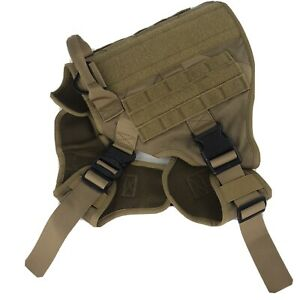Rabbitgoo Tactical Dog Harness With Handle No-pull Large Military Vest Coat