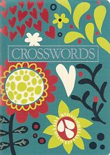 Floral Crossword Book - 62 Puzzles - Great Gift - New