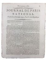 Chambéry en 1792 Monnaie de Savoie Alpes Verdun Marat Buzancy Révolution France