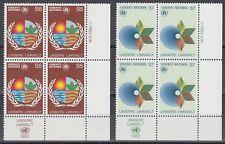 UNO Wien 1982 ** Mi.24/25 Umweltschutz Environement Protection [sr2029]