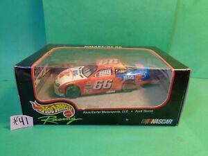 Hot Wheels 1998 Die Cast Racing Car 1/43 Darrell Waltrip #66 KMart, Ford (New)