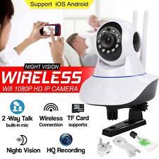 1080P Inalámbrico Wifi IP Cámara IR Baby Monitor Pet Seguridad CCTV Cámara web Pan Tilt