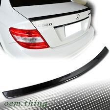 Carbon For Mercedes BENZ C-Class W204 Sedan Rear Trunk Spoiler C230 C300 2013