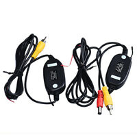 Wireless Transmitter Receiver For Car Reverse Rear View Camera Monitor WR