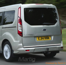Ford Tourneo Connect - CHROME Rear Trim Strip Trunk Tuning Tailgate 3M Garnish