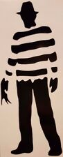 Freddy Krueger Silhouette Vinyl Decal Choose Size/Color