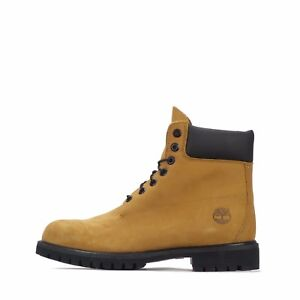 "Timberland 6"" Inch Premium Waterproof Mens Boots in Wheat"