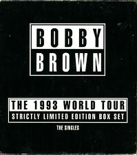 BOBBY BROWN - THE 1993 WORLD TOUR STRICTLY LIMITED EDITION BOX SET 5 CD SINGLES