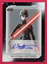 2019 Star Wars Skywalker Saga Nika Futterman as Asajj Ventress Autographs #ANF