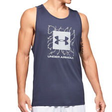 Under Armour Ua Heatgear Tech 2.0 Gráfico Hombre Tanque SPORTS Entreno Atletismo