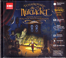 Simon RATTLE: TCHAIKOVSKY The Nutcracker Der Nussknacker 2CD Delux Edition BPO