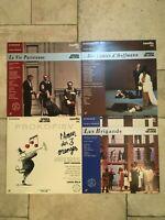 Opera de Lyon - Lotto Lot 4 X LaserDisc _ 1989 Pioneer PAL - near mint