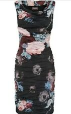 PHASE EIGHT ORLA PRINTED CRUSH DRESS SIZE 10 BNWT £140