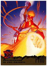 Pyro #60 Marvel '95 Fleer Ultra X-Men Trade Card (C294)