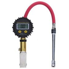New Air Tire Inflator With High Accurate Digital LCD Pressure Gauge W/Dual Chuck