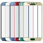 Rojo CURVADO 3d vidrio templado protector para pantalla LCD para Samsung Galaxy