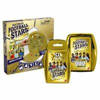 World Football Stars - Match, Top Trumps , Quiz Bundle/Combo  Gold Edition