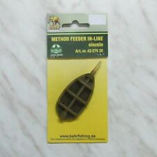 Behr Method Feeder In-Line Futterkorb 20- 60 g Ausdrück Futterform Feederfischen