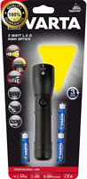 Varta LED Torch High Optics 3W Professional Line Aluminium Flashlight