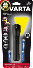 Varta LED Torch High Optics 3W Professional Line Aluminium Flashlight