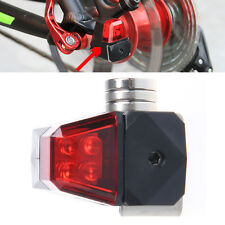 Waterproof Bike Rear Bicycle LED Tail Light Disc Brake Safety Self-powered Lamp