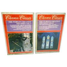 Worlds Greatest Melodies 1986 Cassette Tapes Classical Music HANDEL BIZET DVORAK
