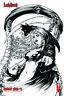 "Lady Death Unholy Ruin #1  ""RAW"" Mike Krome  Ltd. 500 Comic Book"
