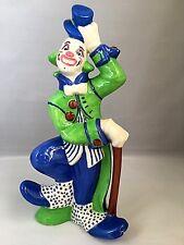 Vintage Circus porcelain Clown figurine