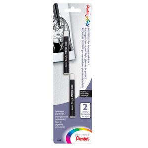 Pentel Pocket Brush Pen Refill 2-Pack