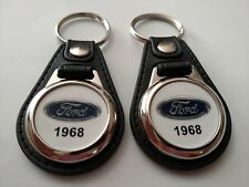1968 FORD KEYCHAIN 2 PACK CLASSIC TRUCK AND CAR  LOGO