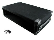 """Procraft 2U 12"""" Deep Equipment Rack 2 Space - Made in the USA - With Rack Screws"""