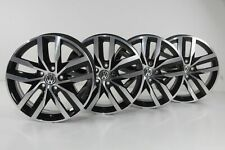 VW Golf 7 E-Golf Gîte Jantes en Alliage 17 Pouces Jantes Madrid Noir 5G0601025D