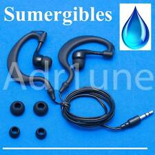 auriculares sumergibles acuaticos impermeables natacion piscina baño ducha MP4