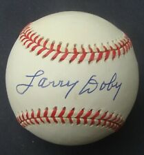 LARRY DOBY  signed  Baseball  AUTOGRAPHED  PSA/DNA
