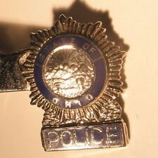 Police Badge State of Ohio Vintage Tie Bar Clip gift sherrif deputy chief gift