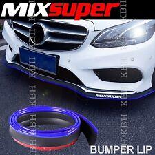 MIXSUPER Rubber Bumper Lip Splitter Chin Spoiler EZ Protector BLUE for Chevrolet