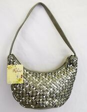 Relic by Fossil Women's Small Julie Silver Sequin Shoulder Hand Bag HOBO NWT