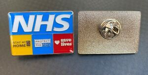 NHS STAY AT HOME BADGE NURSE DOCTOR AMBULANCE MEDIC PARAMEDIC KEY WORKER PIN