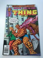 Marvel Two-In-One The Thing and ?! Shellshock #70 December 1980