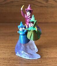 Disney - Sleeping Beauty - Fairy Godmothers Cake Topper - Toy Figure