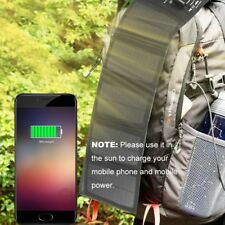Foldable Usb Portable Solar Battery Charger Power Bank For Mobile Phone Tablet T