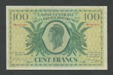 FRENCH EQUATORIAL AFRICA  100 francs  1944  P18  VF   World Paper Money