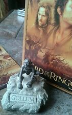 "LOTR by Les Etains du Graal of Paris Fine Sculpture ""Gollum"" Boxed MINT"