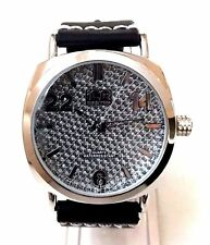 Mens Fashion Watch Ice Master BM1294 Black Leather Band, Mens Formal Watch 1 ATM