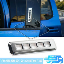 Fit For 2015 2016 2017 2018 2019 Ford F-150 Chrome Keypad Cover Overlays Trim