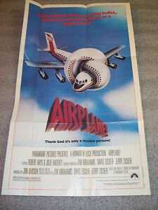 Movie Poster AIRPLANE Mint Condition