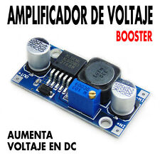 Amplificador/incrementador de Voltaje DC (Booster). Salida: 5 a 35 VDC. Nuevo !!