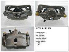 Undercar Express 10-5115S Frt Right Rebuilt Brake Caliper With Hardware